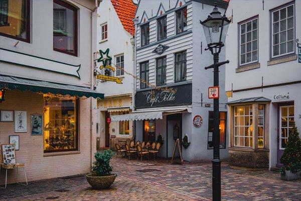Binnenstad van Bremen